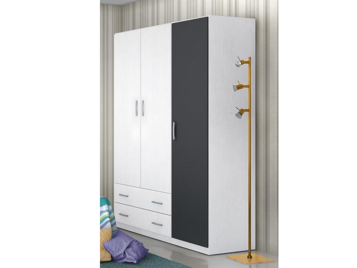 Armario de puertas largas juvenil para un dormitorio m s for Armarios altos para dormitorio