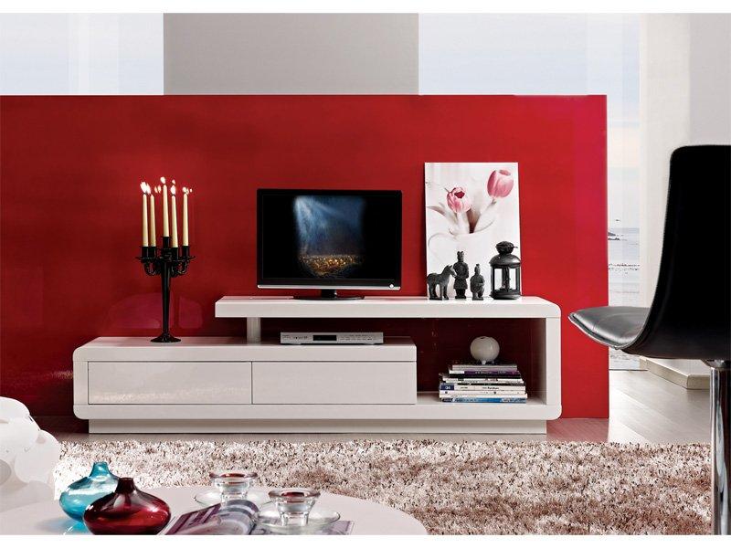 De Tv Blanco Mueble De Tv Modernos Mueble De Televisin Moderno