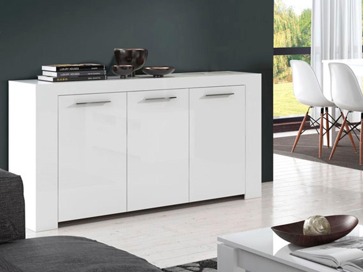 Mueble aparador comedor, comprar aparador de salón en color blanco