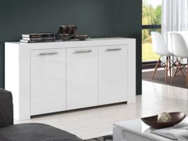 Mueble aparador de comedor blanco - Muebles de comedor en blanco ...