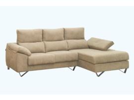 Sofa chaisselongue de diseño moderno.