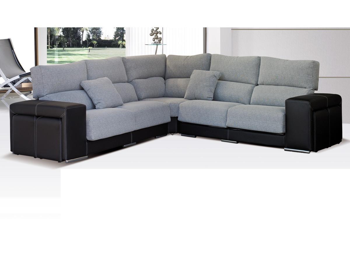 sofa rinconera puffs laterales sofa rinconera puffs sofa rinconero sofa grande salon