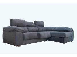 Sofá chaise-longue para espacios reducidos