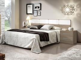 Dormitorio con líneas divertidas