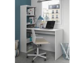 Mesa de ordenador con estanteria lateral