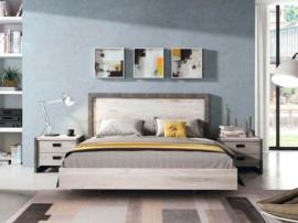 Dormitorio de matrimonio Azahar cemento