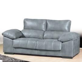 Sofá de respaldo abatible y cojín siesta