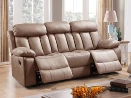 Sofá de 3 plazas con 2 relax