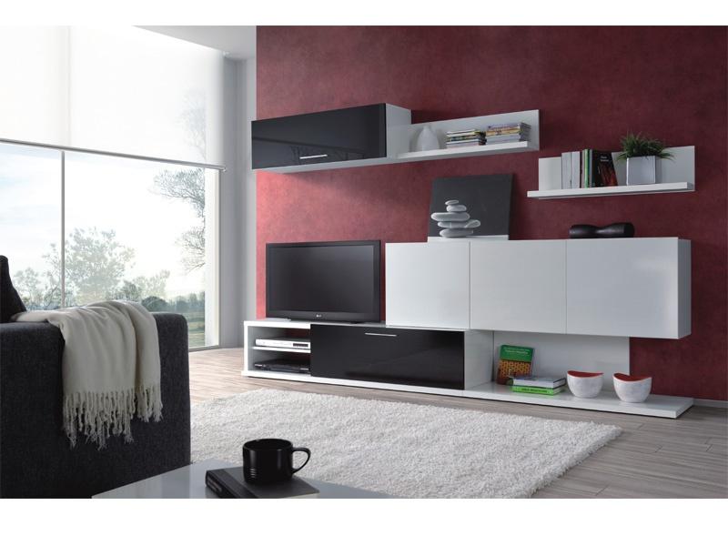 mueble apilable de comedor blanco y negro un interesante mueble en