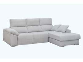 Sofá chaise longue con 2 relax eléctricos
