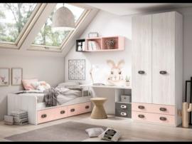 Dormitorio juvenil Pop