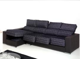 Sofá ergonómico con chaise longue