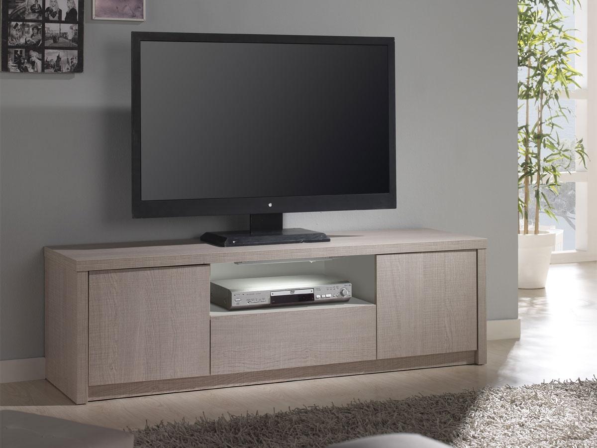 Mesa para la tv con almacenaje diferentes colores a elegir for Mesas de televisor modernas