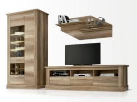 Mueble de salón modular roble étnico
