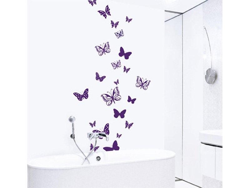 Vinilo Mariposas Decoracion Cuadro Naturaleza Para El Salon Hogar - Decoraciones-vinilo