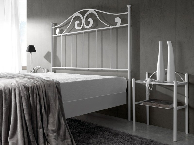 Cabezal de forja modernista cama forja dormitorio de - Cabezales de cama de matrimonio ...