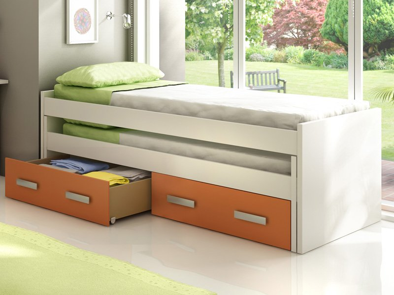 Decorar cuartos con manualidades camas juveniles dobles for Cama doble ikea
