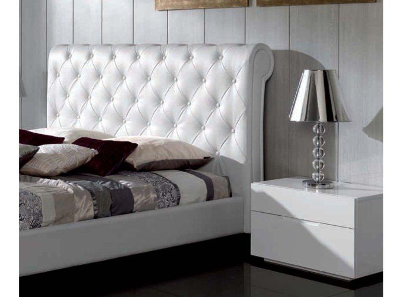 Cabezales de camas cabezal testa crema cama compuesta de - Cabezal de cama tapizado ...