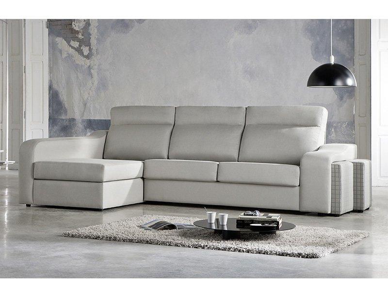 Sof cama con chaise longue venta chaise longue de cama - Sofas italianos de piel ...