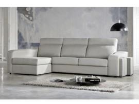 Sofá cama con chaise longue a la italiana