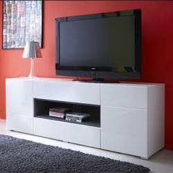 Muebles de sal n mesas para televisi n y estanter as - Muebles para tv dormitorio ...
