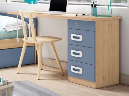 Mesa Escritorio Con Soporte De Cama Nido Para Espacios Reducidos Estos tienen a menudo uno o más cajones. mesa escritorio con soporte de cama nido star