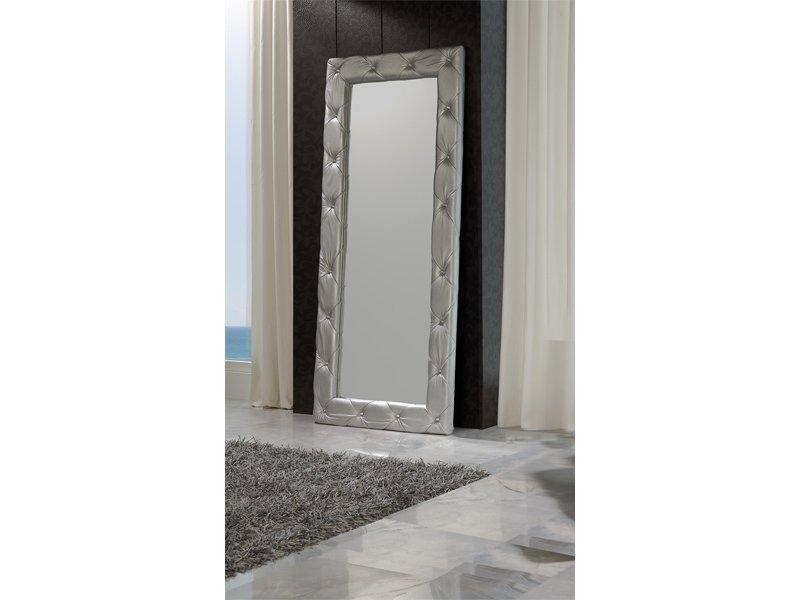 Espejo para vestidor alto compra el vestidor tapizado en for Espejo vintage plateado