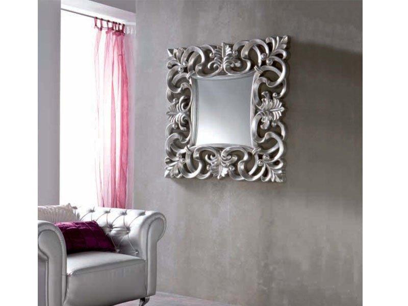 Espejo cuadrado elegante oferta espejo elegante lacado online for Espejo dormitorio
