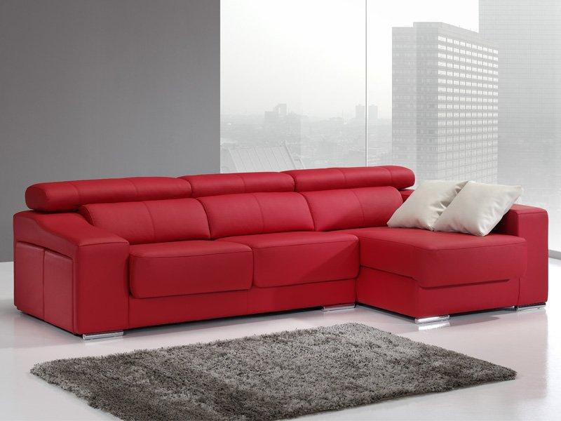 Sofá chaise longue de pouffs laterales sofá de dise±o actual