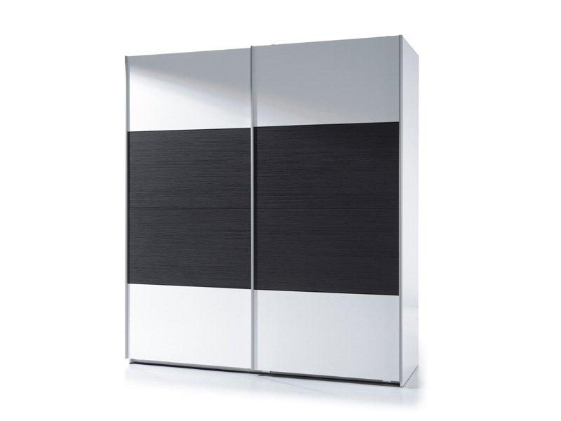 Armario de dormitorio blanco negro oferta armario puerta - Armario dormitorio blanco ...