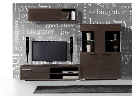 Composici n muebles de sal n apilables para tv y vitrina for Muebles apilables