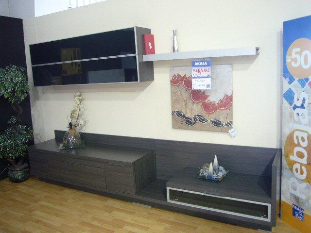 Mueble moderno de salón apilable, oferta mueble apilable metacrilato