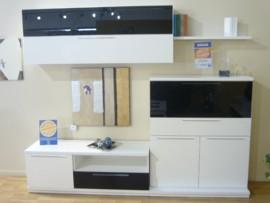 Mueble blanco de salón modular