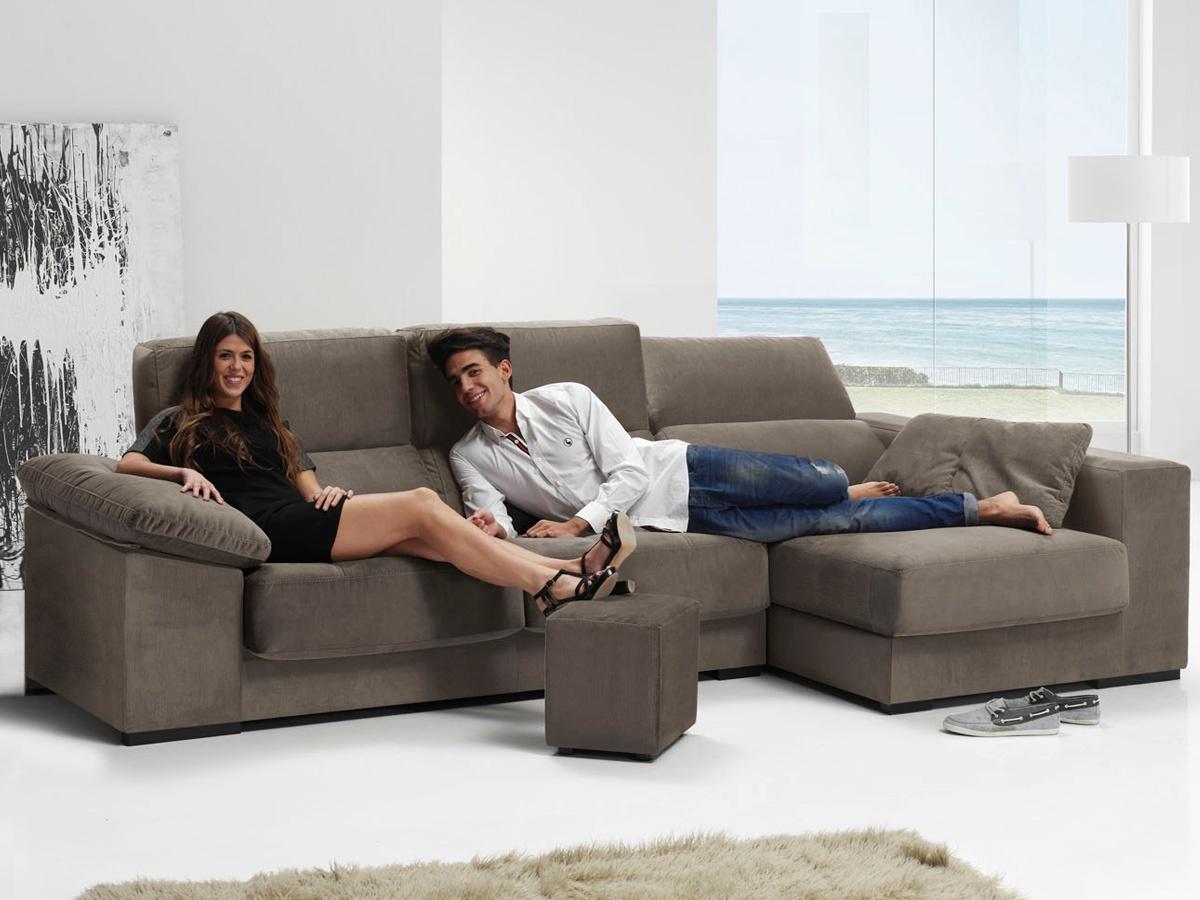 Sof chaise longue cabezal reclinable sof de asientos - Asientos para sofas ...