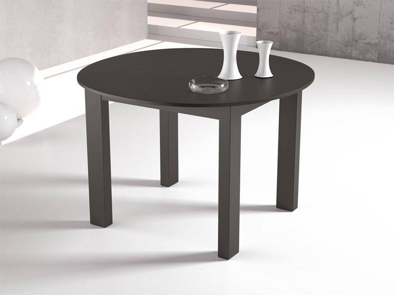 Casas cocinas mueble muebles de cocina de colores - Salon comedor con mesa redonda ...