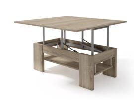 mesa con economia de los espacios