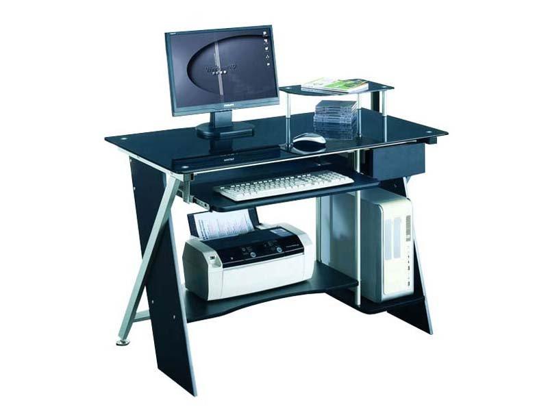 Mesa de centro y auxiliar mesa de centro de cristal car for Diseno mesa ordenador