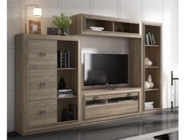 Muebles para salón comedor modernos, modulares y apilables baratos