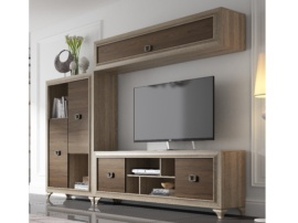 Mueble para comedor apilable