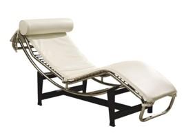 Tumbona de diseño relax en piel