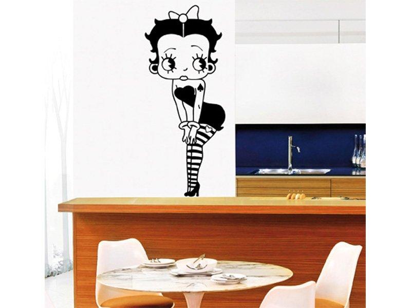 Vinilo oh betty sal n decoraci n cuadros vinilos para comedor for Vinilos para muebles de salon