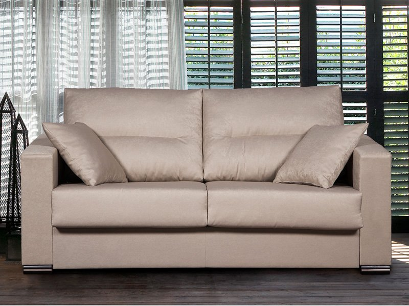 Sof cama de matrimonio sof s con colch n de 135 y for Sofa cama 135 ancho
