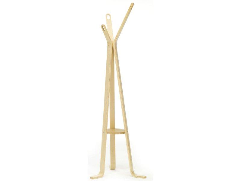 Perchero moderno en madera para habitaci n y cuarto de estar - Percheros rusticos de pared ...