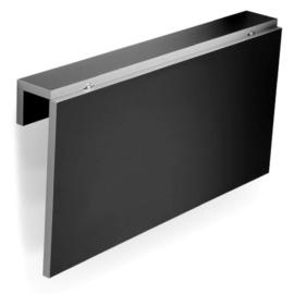 Mesa abatible de cocina para pared práctica en color blanco