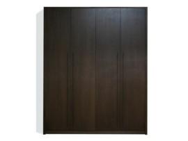 Armario de habitación wengué – 4 puertas