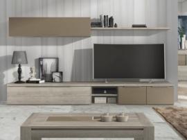 Mueble modular para salón de diseño
