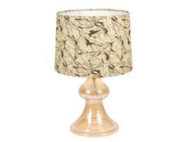 Lámpara cristal neutra 25x25x30 cm