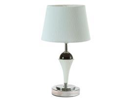 Lámpara mesa blanca 22x22x38 cm