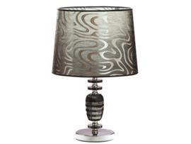 Lámpara cristal plata 35x60