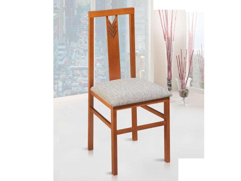 Silla de madera salon silla salon oferta silla vertical for Oferta sillas madera